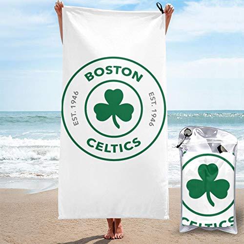 Unisex Quick Dry Towel Boston Basketball Cel-tics Bathroom Towels, Pool Towels, Beach Towels, Large Size Bath Towels, Quick Dry Towel 28.7'' x 51''