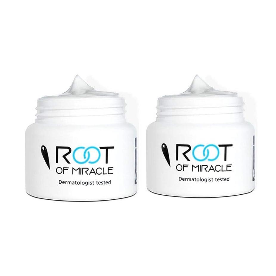手書き接続詞読むルートオブミラクル50mlx2本セットシミ色素沈着の美白クリーム韓国コスメ、Root of Miracle 50ml x 2ea Set Freckled Cream Whitening Cream Korean Cosmetics [並行輸入品]