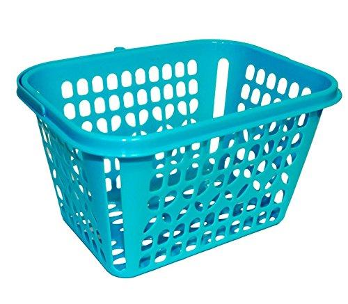Cesta de plástico Azul para Las Pinzas de la Ropa
