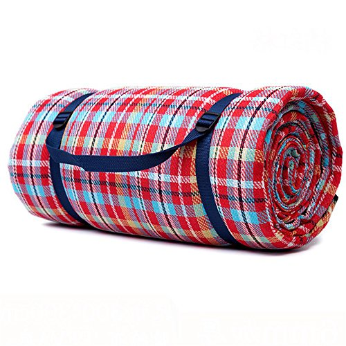 MONEYY The Picnic mat red and white format outdoor portable moisture pad tent picnic the picnic camping mats 300*303cm