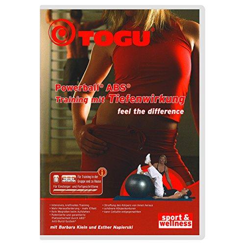"DVD \""\""Powerball ABS Training mit Tiefenwirkung\""\"" Gymnastikball Sitzball 80 Min."