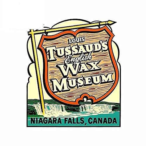 A/X 13 cm 11,1 cm per Il condizionatore d'Aria Automatico degli Adesivi per Auto del Frigorifero del museo delle Cere delle cascate del Niagara