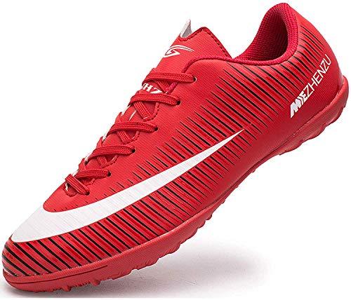 Ikeyo Fußballschuhe Kinder Microfaser Cleats Beruf Jugendliche Outdoor Athletics Trainingsschuhe Herren Sportschuhe Unisex