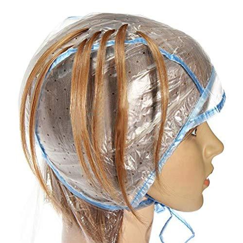 Mobestech Wegwerp Haarkleuring Highlighting Cap Met Plastic Haak Voor Thuis Diy Kapper Kapsalon
