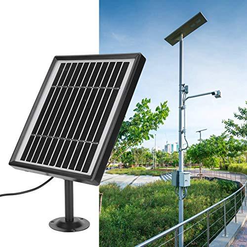 Panel solar de cargador solar de 3,3 W con interfaz USB, protección IP67 para la mayoría de cámaras solares, 5 V 1 A