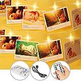 Luce LED Clip catena foto luce 5M/50LED di catena scintilla luci batteria/Clip a LED...