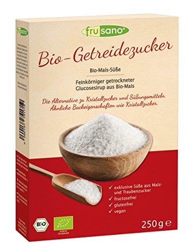 Frusano Bio Getreidezucker Mais-Süße, 5er Pack (5 x 250 g)