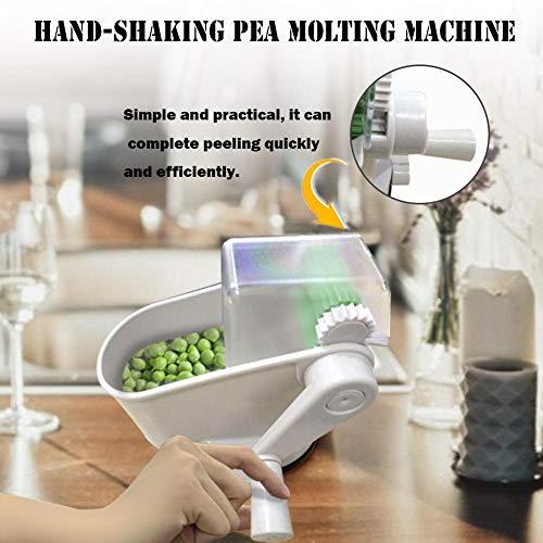 Corwar Laminador Manual para Guisantes Peeler, máquina de pelar Sheller Sheller del Cortador de la máquina de Cortar de la cortadora de la verdura de la Haba Durable serviceable