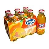 Yoga Juice Apricot Nectar - 6 Bottles of 4.2 oz Bottles [Twin Pack]