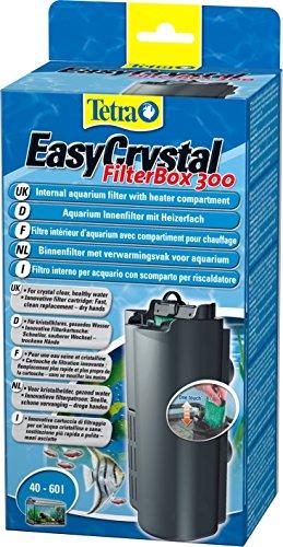 Tetra EasyCrystal Filter Box 300 Aquarium-Innenfilter (mit Heizerfach für kristallklares gesundes Wasser, einfache Pflege, keine nassen Hände beim Filterwechsel, intensive mechanische biologische chemische Filterung), geeignet für Aquarien von 40 bis 60 Liter - 2