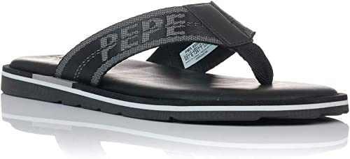 Pepe Jeans Herren Barrel Tape Zehentrenner