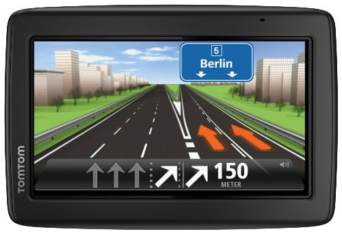 TomTom Start 25 Europe Traffic Navigationssystem(13 cm (5 Zoll) Display, TMC, Fahrspur- & Parkassistent, IQ Routes, Favoriten, Europa 45) schwarz
