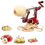 Akin 3-in-1 Apfelschäler, Entkerner zum Entkernen von Kartoffeln, Safe, Obst, Ananasschäler,...