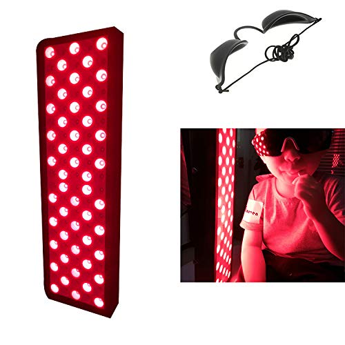 Why Choose LXT PANDA 110W Red LED Light Therapy Panel, 660nm Red 850nm Light Therapy Device for Body...