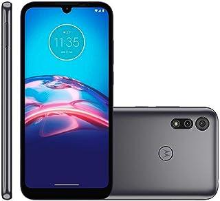 """Celular Motorola Moto E6s Cinza Titanium 32gb Tela 6.1"""" 2gb Ram Câmera Dupla 13mp + 2mp"""