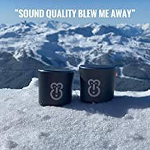 Bluetooth Speaker - Revolutionary Portable Mini Speakers, Bluetooth Twin Stereo - Howler by Wiseprimate, Wireless Space Gr...