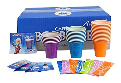 Caffè Borbone Kit 100 Accessori per Bevande, Assortito, unità
