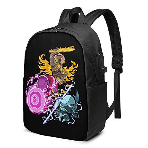 De-Sti-Ny 2 Be-Yond Li-GHT Laptop Backpack,Business Travel Durable Laptops Backpack with USB Charging Port, College School Computer Bag for Women & Men Fits MacBook AIR Pro
