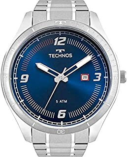 Relógio Masculino Technos Digital 2115Mpd/1A Prata