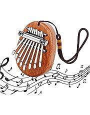 8 Key Kalimba Piano 1 Stks Draagbare Kalimba Muzikale Duim Piano Beginner Mini Kalimba Duim Piano met Lanyard Duim Muziekinstrument voor Kinderen en Volwassenen