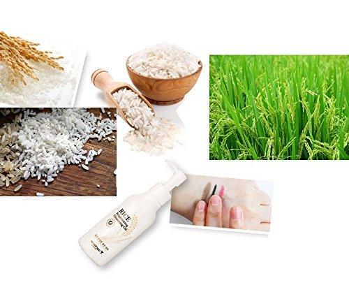 Skin Food – Rice éclaisissant Cleansing Oil – Huile pour le visage avec extrait de riz – reinigungsöl pour les hommes et les femmes – Soin du Visage/Soin de Jour