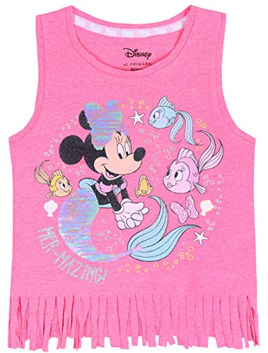 Roze blouse met franjes Minnie Mouse Disney
