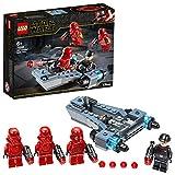 LEGO Star Wars - Pack de Combate: Soldados Sith, Set de Aventuras de La Guerra de las Galaxias, Vehículo de un Soldado de Asalto de Juguete, Incluye 4 Minifiguras (75266)