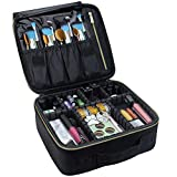 Travel Makeup Case,Chomeiu- Professional Cosmetic Makeup Bag Organizer Makeup Boxes With C...