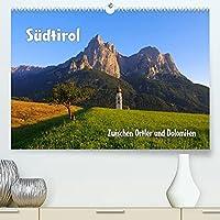 Suedtirol - Zwischen Ortler und Dolomiten (Premium, hochwertiger DIN A2 Wandkalender 2022, Kunstdruck in Hochglanz): Vom Vinschgau zu den Dolomiten (Monatskalender, 14 Seiten )