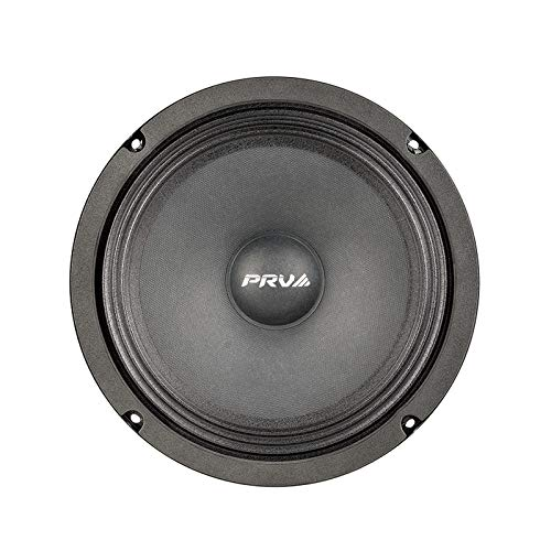PRV AUDIO 8MR450A 8 Inch Midrange Speaker, 8 Ohms, 450 Watts Continuous Program Power, 225 Watts RMS Power, 96 dB, Mid Range Loudspeaker for High Output Pro Sound System (Single)