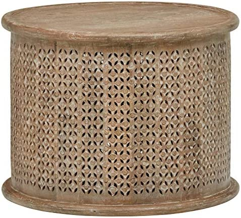 Best Amazon Brand – Stone & Beam Commodore Casual Round Coffee Table, 23.6