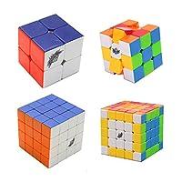 風の翼 4パックステッカーマジックキューブ2x2x2,3x3x3,4x4x4,5x5x5ステッカーマジックキューブ