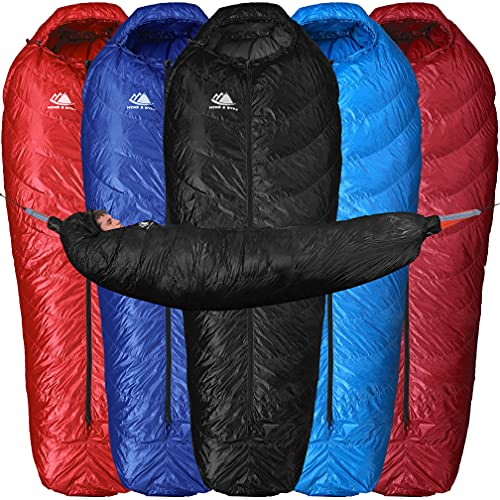 High-Quality Sleeping Bag for Ground Camping or Hammock Camping