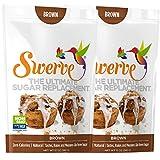Swerve Sweetener, Brown Bundle, 12 oz pack of 2