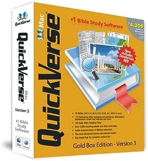 QuickVerse Mac 3.0 Gold Box