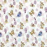 Disney Stoff mit Figuren aus 100 % Baumwolle, Motiv: Winnie