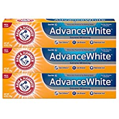 STAIN DEFENSE TECHNOLOGY: Helps to whiten your teeth and prevents new stains from setting. Formulated with refined dental grade baking soda to give you a noticeably whiter, brighter smile POWER OF BAKING SODA: ARM & HAMMER baking soda gently cleans a...