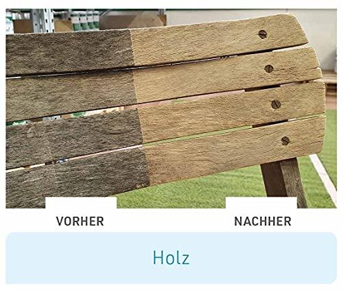 Mediashop Freshmo Set | 2 Stück mit Bürste | Öko-Auffrischer für Holz, Stein, Kunststoff | Pflege | Das Original aus dem TV - 4