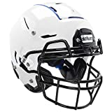 Schutt F7 Professional Youth Football Helmet (Facemask NOT Included), White, Large