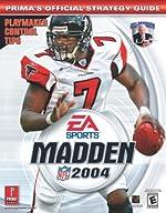Madden 2004 - Prima's Official Strategy Guide de Prima Development