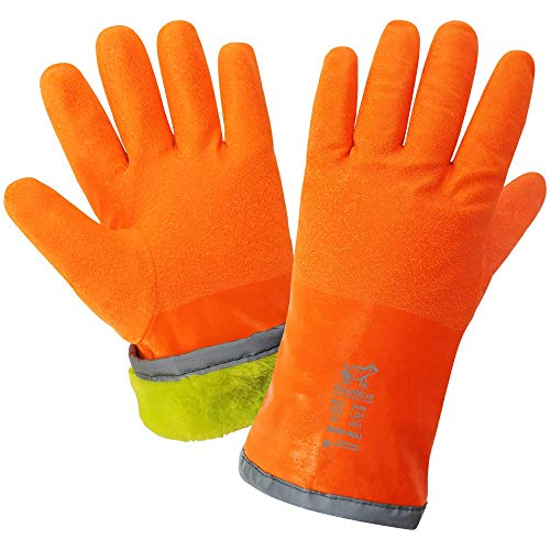 FrogWear 8450 Cold Protection - Extreme Cold Nitrile Chemical Handling Gloves (1 Pair) (Extra Large)