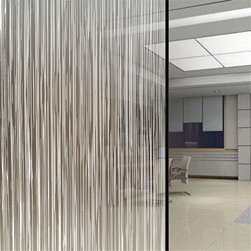 TFOOD Raamfolie, gegevensbescherming, ondoorzichtige glassticker, esthetische statische kunst strip, zelfklevende folie aanbrengen 60x200cm