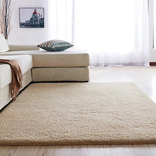 Europese moderne pluizige rechthoekige tapijt woonkamer slaapkamer balkon wit roze grijs antislip polyester tapijt 140 cm * 200 cm, YG2-2,1000MMx1600MM