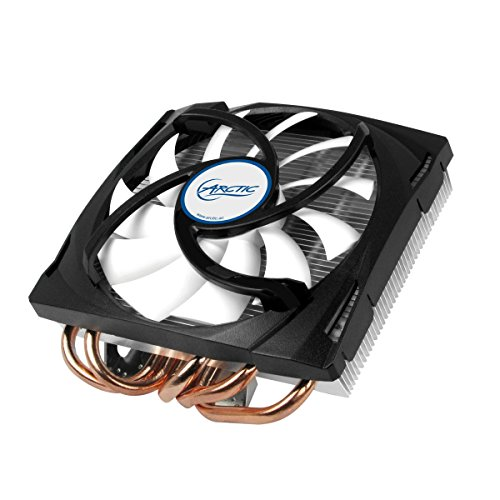ARCTIC Accelero Mono Plus - AMD/NVIDIA Graphics Card Cooler, Compact 120 mm Fan, 5 heatpipes, pre-applied MX-4 Thermal Paste, 200 Watts Max. Cooling Capacity