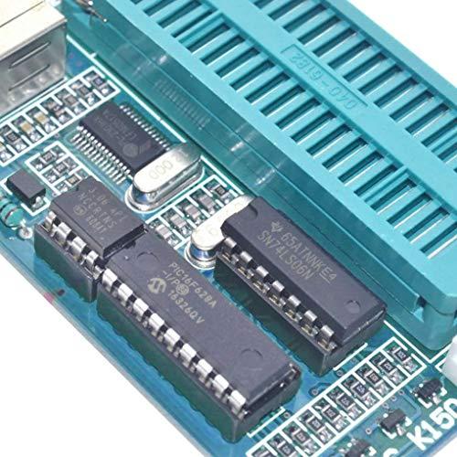 Lorsoul Programación automática del PIC K150 ICSP Programador USB Desarrollar microcontrolador Módulo Cable USB ICSP