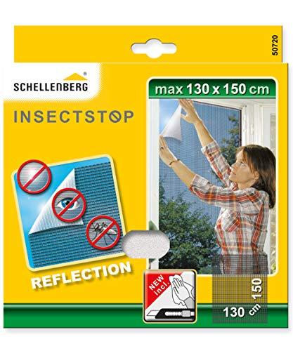 Schellenberg 50720 reflektierendes Fliegengitter Reflection reflektierender-Insektenschutz 130 x 150 cm