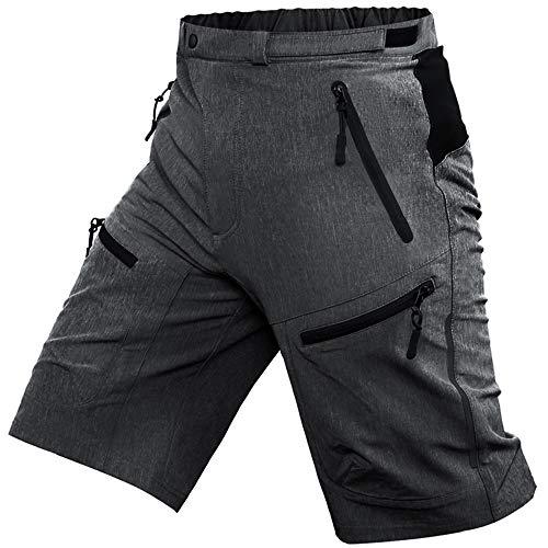 Cycorld Mens Mountain Biking Shorts Bike MTB Shorts Loose Fit