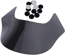 Gazechimp Windscreen/Scooter Windshield, Motorcycle Wind Deflectors for Harley Sportster Softail, Scratch- Resistant