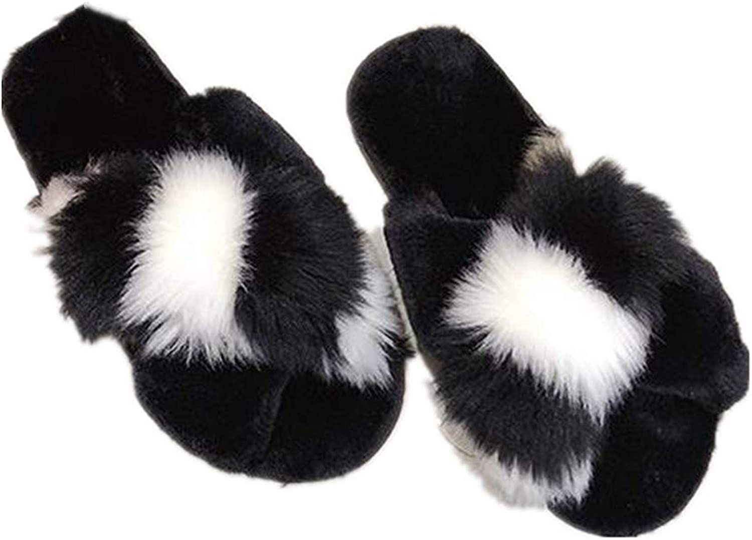 IINFINE Autumn and Winter Indoor and Outdoor Non-Slip Slippers