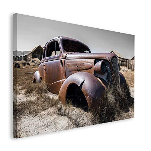 REINDERS Alte Karosserie - Wandbild 118 x 70 cm